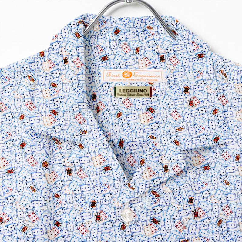 アロハシャツ・オープンカラー